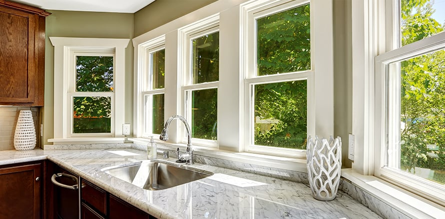 Trust Nation's Contractor, one of the best window replacement companies in Northern Virginia, to update your kitchen windows.